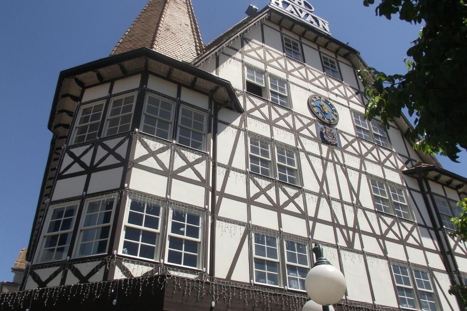 The german architecture is very charming
