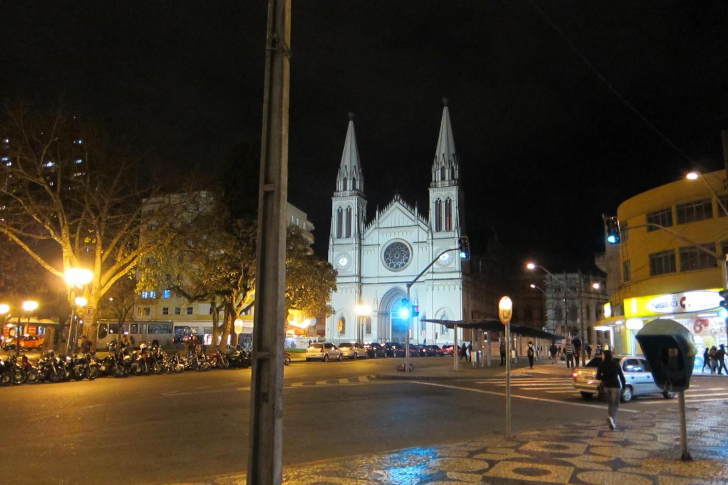 Curitiba by Night with Dinner