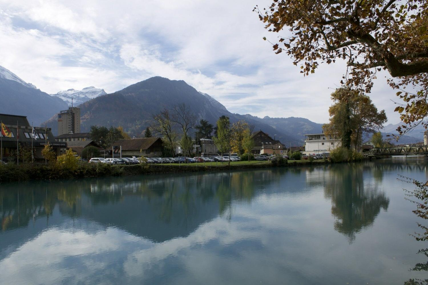 Experience the beauty of the Swiss Alps during a visit to Interlaken