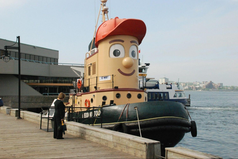 Theodore Tugboat in Saint John