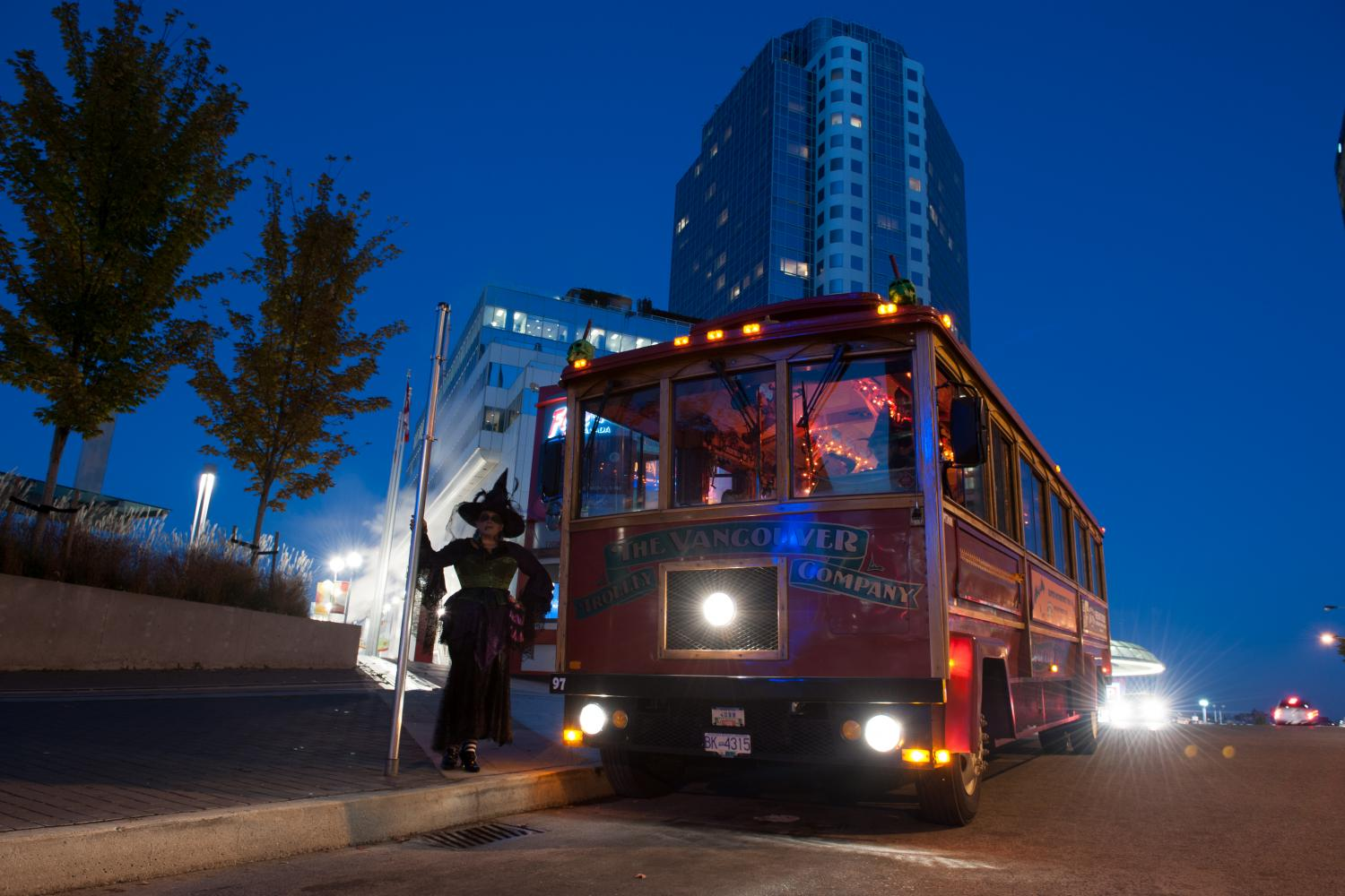 Haunted Vancouver Trolley Tour