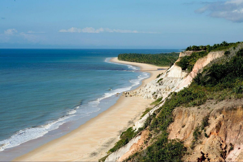 Praia dos nativos. Source/fonte: SMCT - Porto Seguro