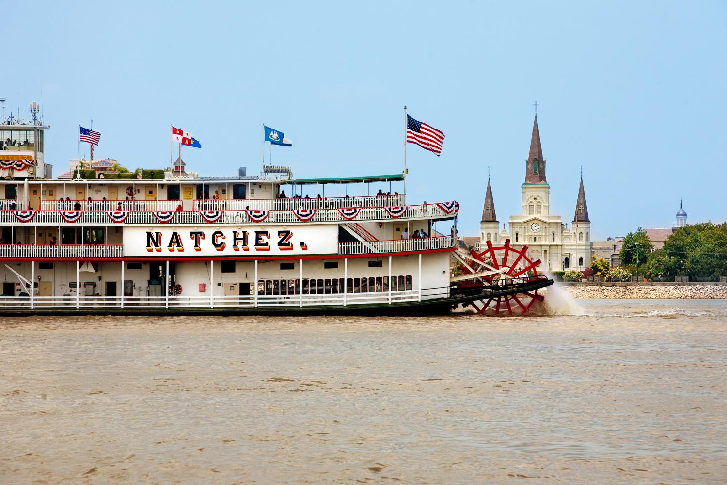 New Orleans Steamboat Natchez Sunday Jazz Cruise With Brunch