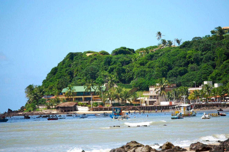 Explore the magnificent cliffs along Brazil's beautiful coastline