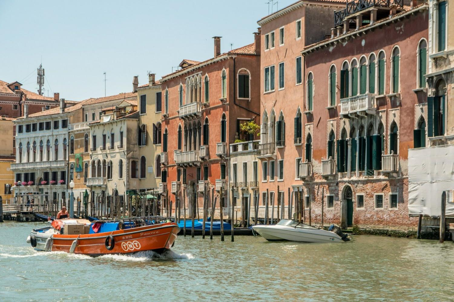 Venice from the Water: Grand Canal boat tour