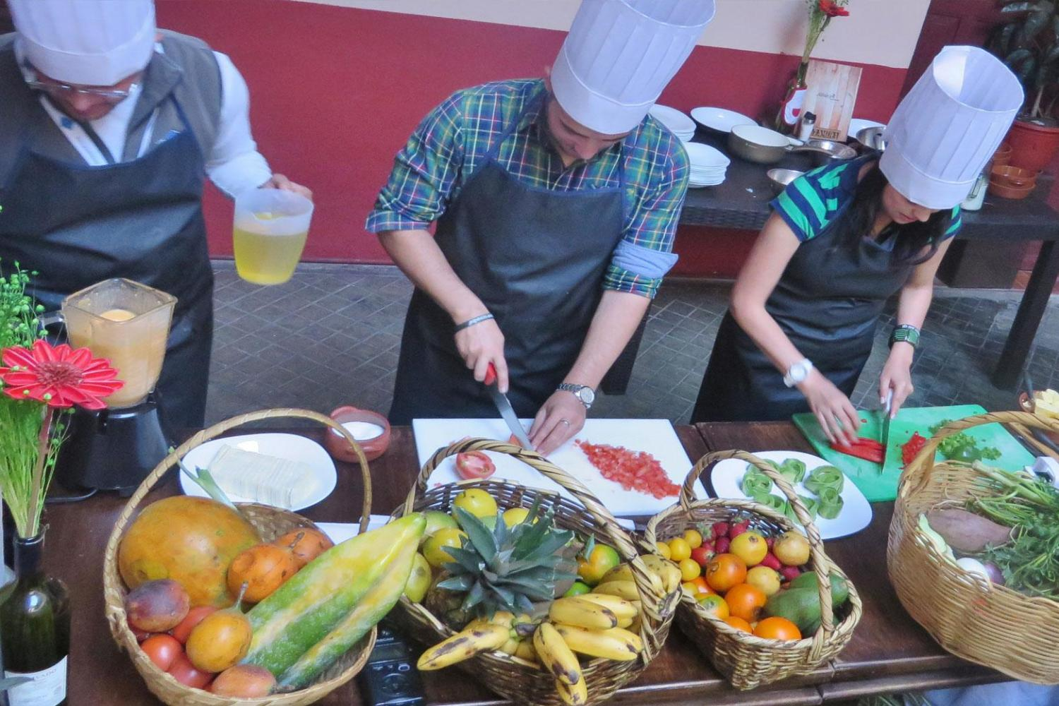 Andean Cooking Class in Quito with Hotel Pick-up