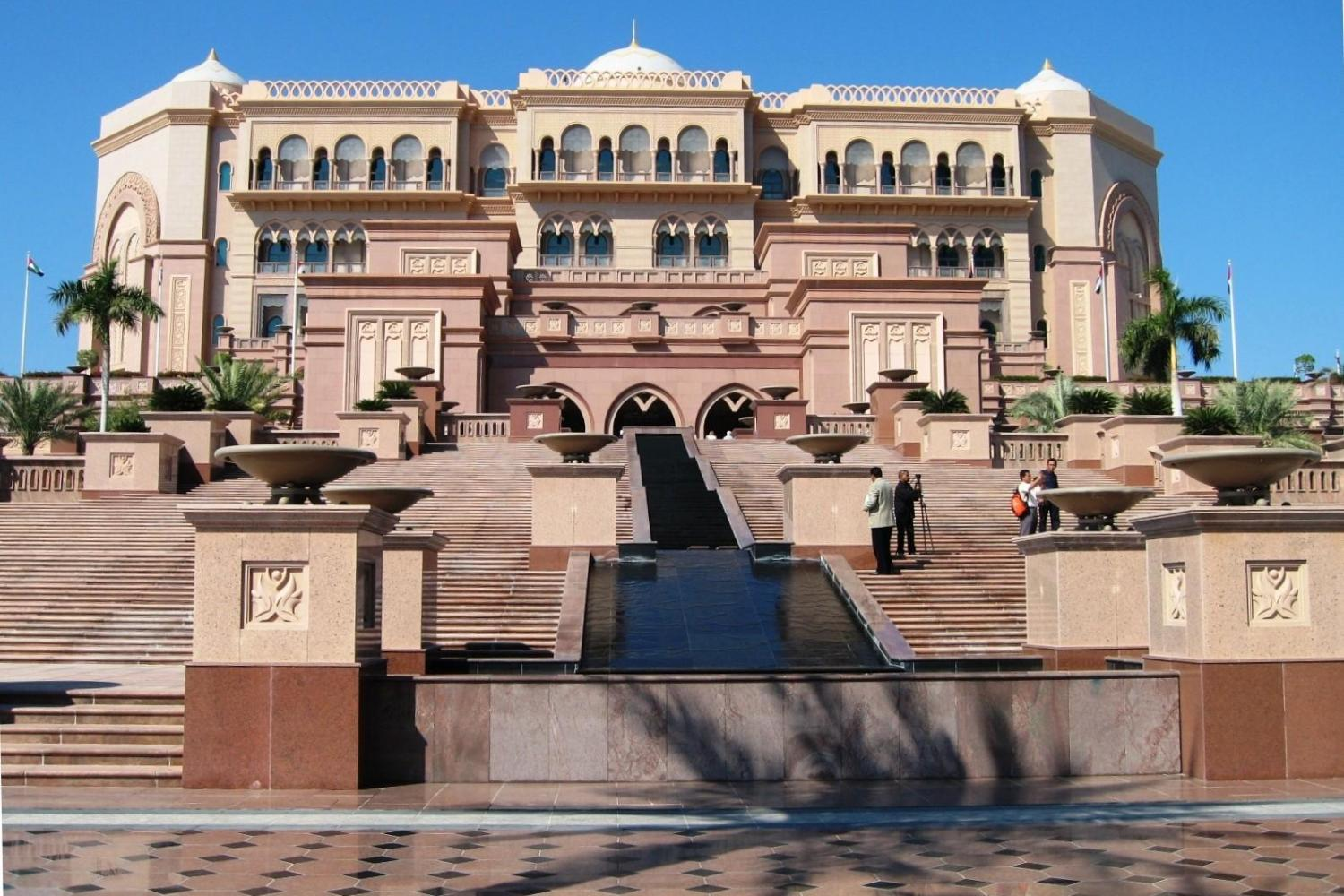 Emirates Palace Tour With Tea And Abu Dhabi City Tour
