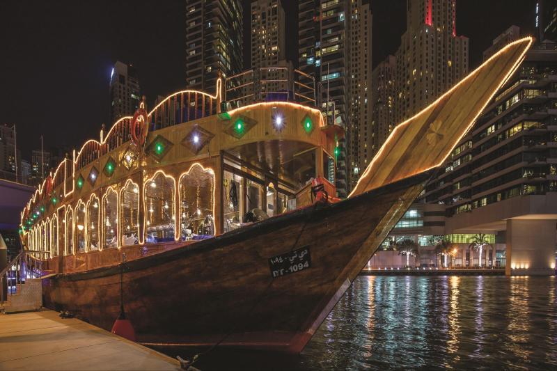 Marina Dhow Cruise Dinner From Dubai - Dubai, United Arab ...