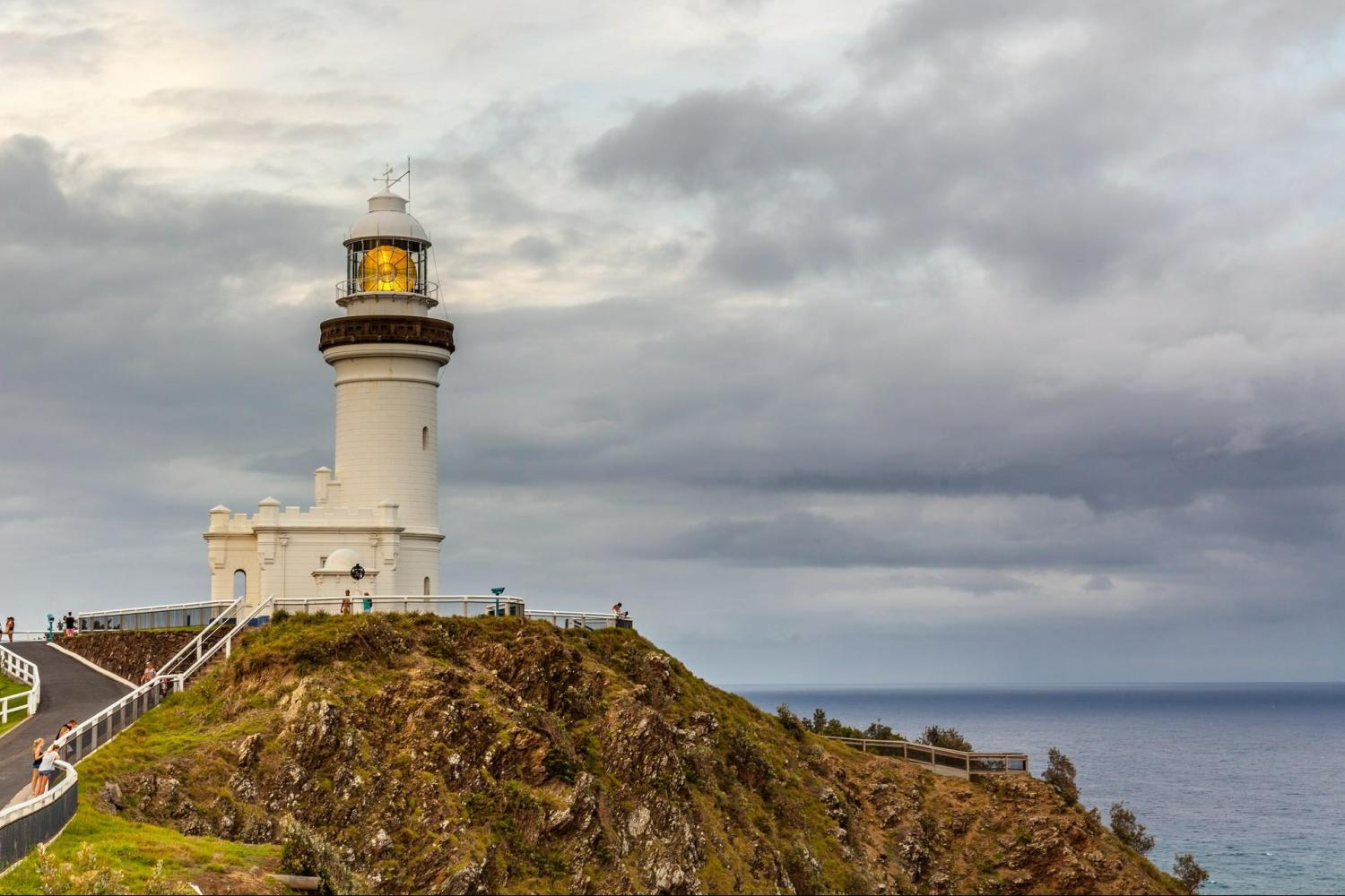 Cape Byron Lighthouse built in 1901