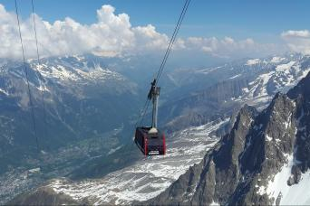 Gray Line Chamonix Mont Blanc Day Trip With Cable Car & Aiguille du Midi From Geneva