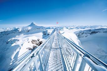 Gray Line Glacier 3000 & Montreux Day Trip From Geneva