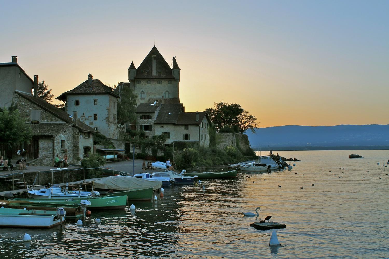 Chamonix Mont Blanc & Yvoire Medieval Village From Geneva