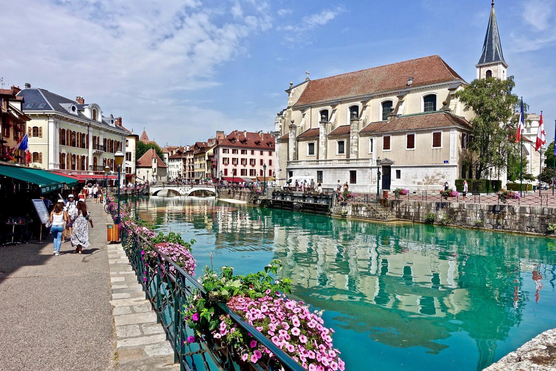 Annecy & Geneva City Tour Plus Boat Cruise