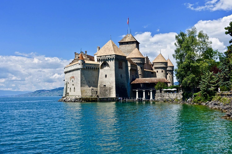 Chaplin's World, Montreux & Chillon Castle From Geneva