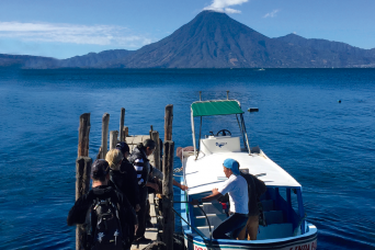 Gray Line Private Tour: Lake Atitlan Boat Tour and Santiago Village from Guatemala City