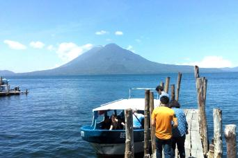 Gray Line Lake Atitlan Boat Tour and Santiago Village from Antigua