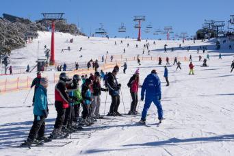 Gray Line Mt. Buller Ski Beginner