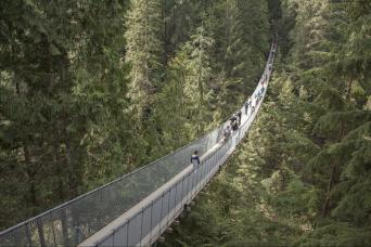 Gray Line Grouse Mountain & Capilano Suspension Bridge Park From Vancouver