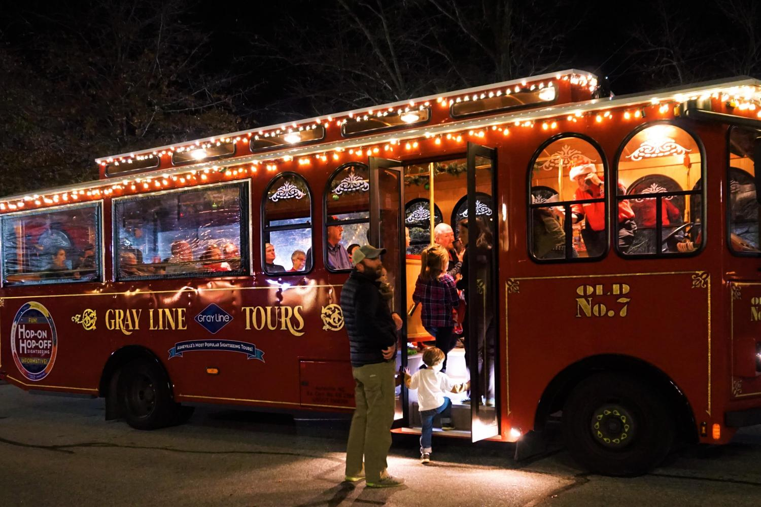 Holly Jolly Christmas Trolley Tour