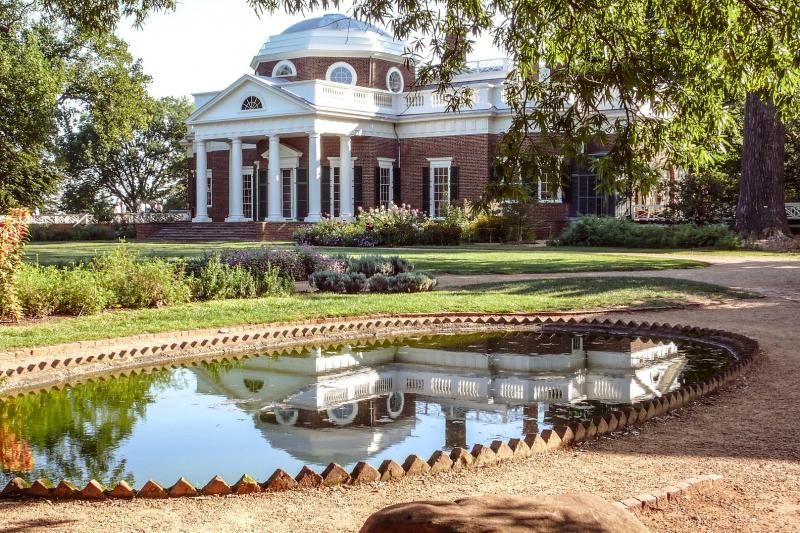 Excellent Thomas Jeffersons Monticello Estate Tour From Washington Dc Home Interior And Landscaping Synyenasavecom