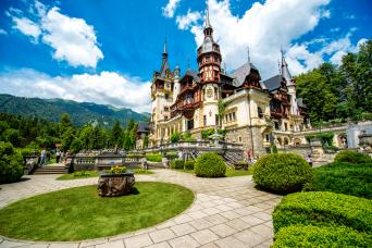 Gray Line Day Trip to Royal Castle in Sinaia