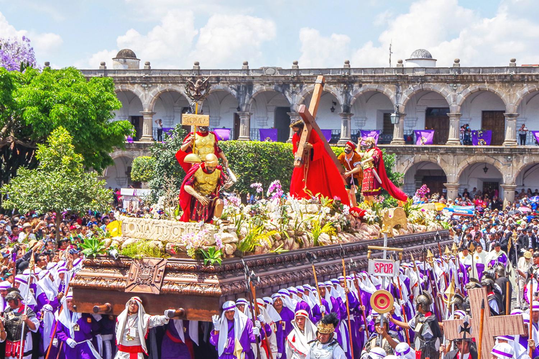 Holy Week Antigua Guatemala: Carpets tour