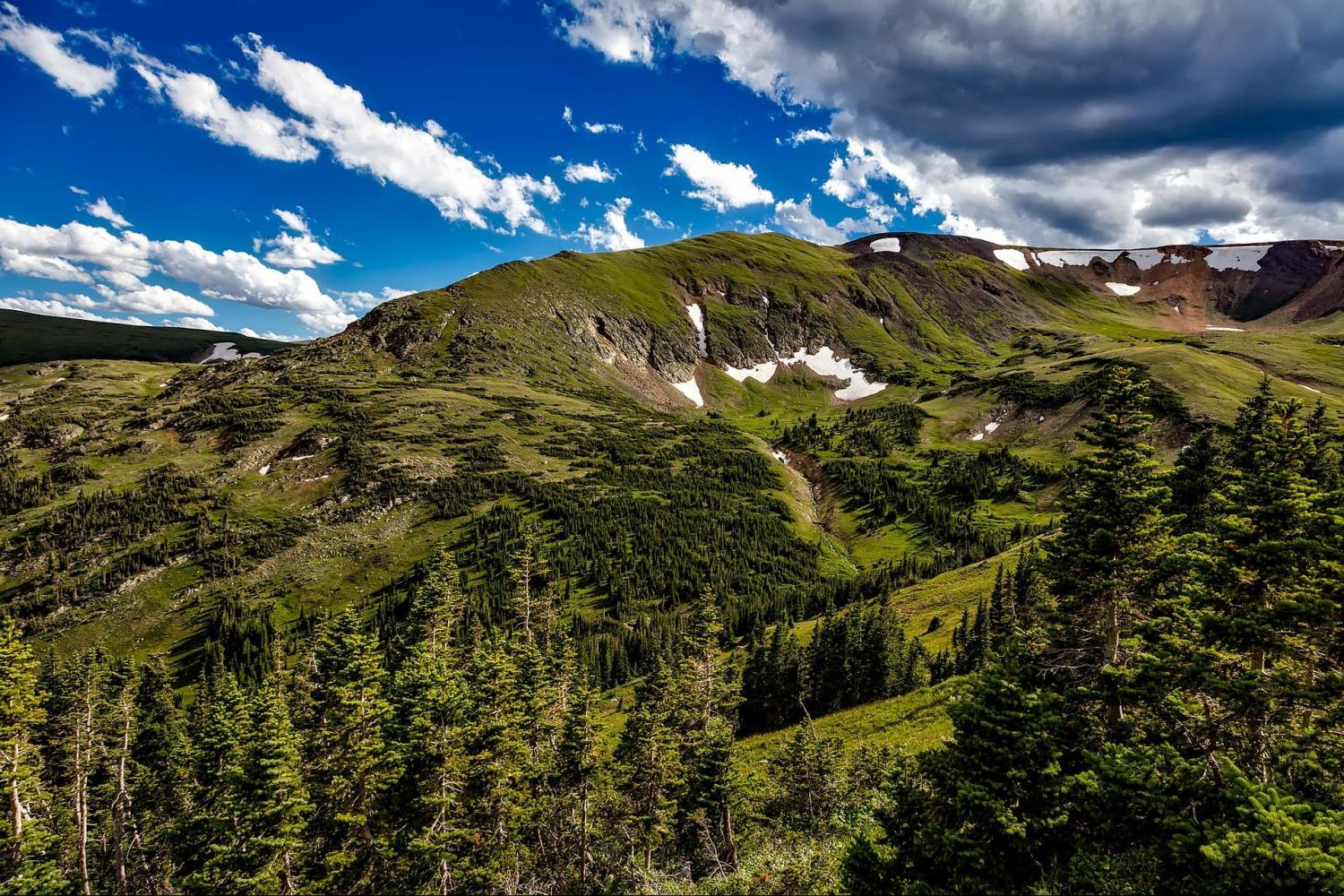 See the absolutely breathtaking Rocky Mountain National Park
