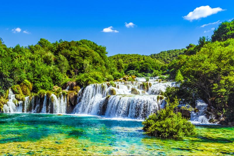 Krka National Park Sibenik Tour From Split Or Trogir Split Croatia Gray Line