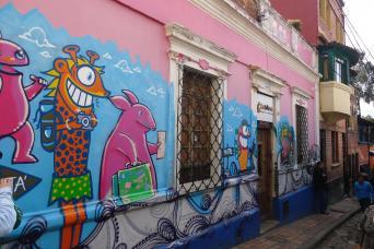 Gray Line Graffiti Walking Tour of Bogota