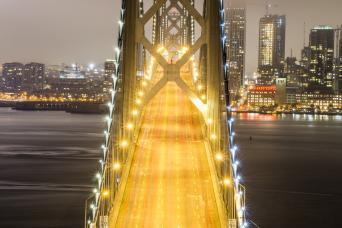 Gray Line San Francisco Open Top Cable Car Night Tour
