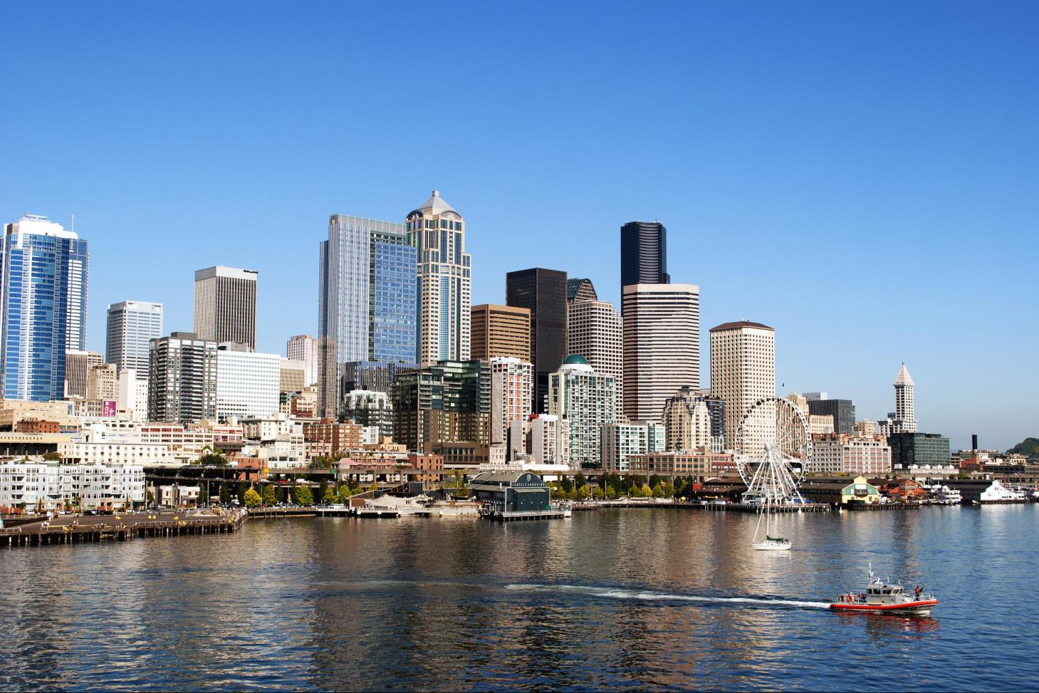Seattle Hop-On Hop-Off Tour & Harbor Cruise