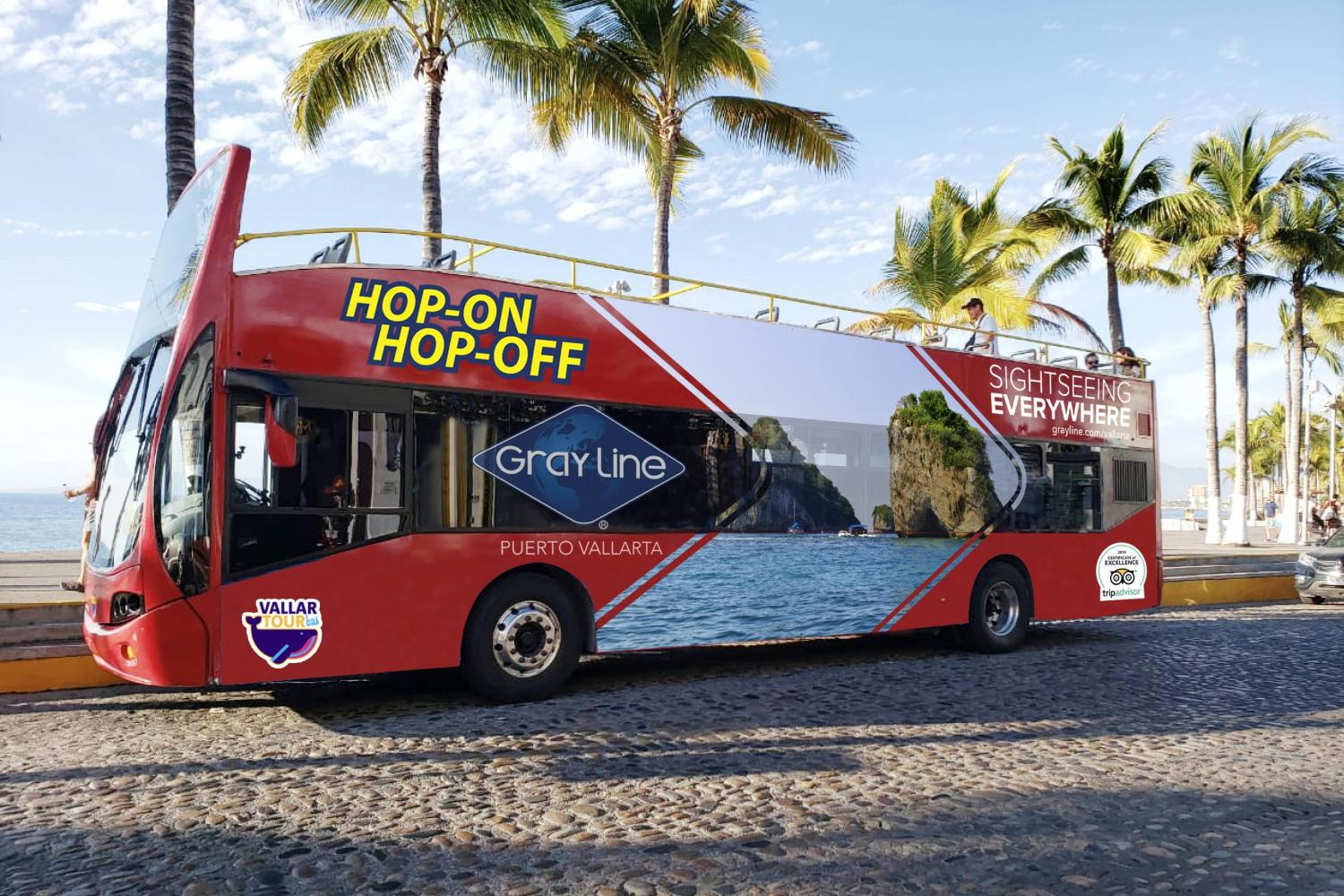 Puerto Vallarta Hop-On Hop-Off Tour