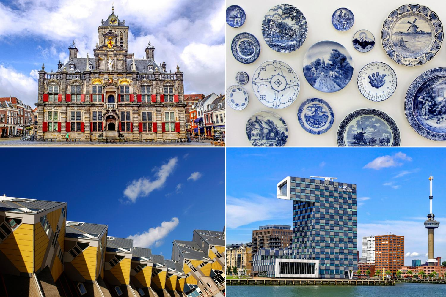 Rotterdam, Delft & The Hague small group
