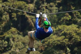 Monkey Zip Line Adventure