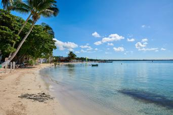 Gray Line Boca Chica Beach Day from Santo Domingo