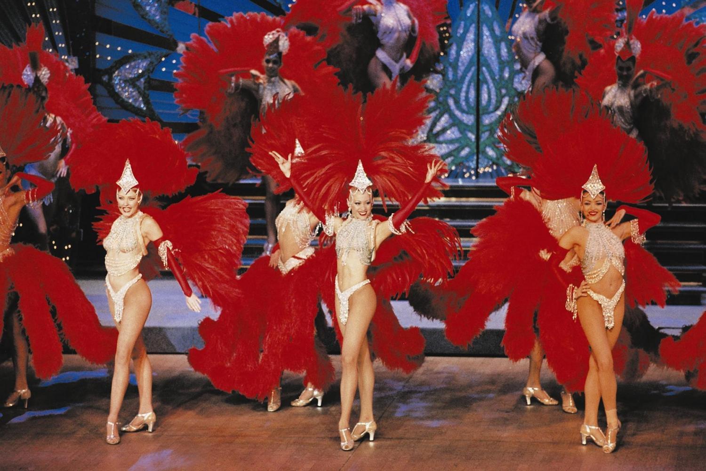 Moulin Rouge dansers