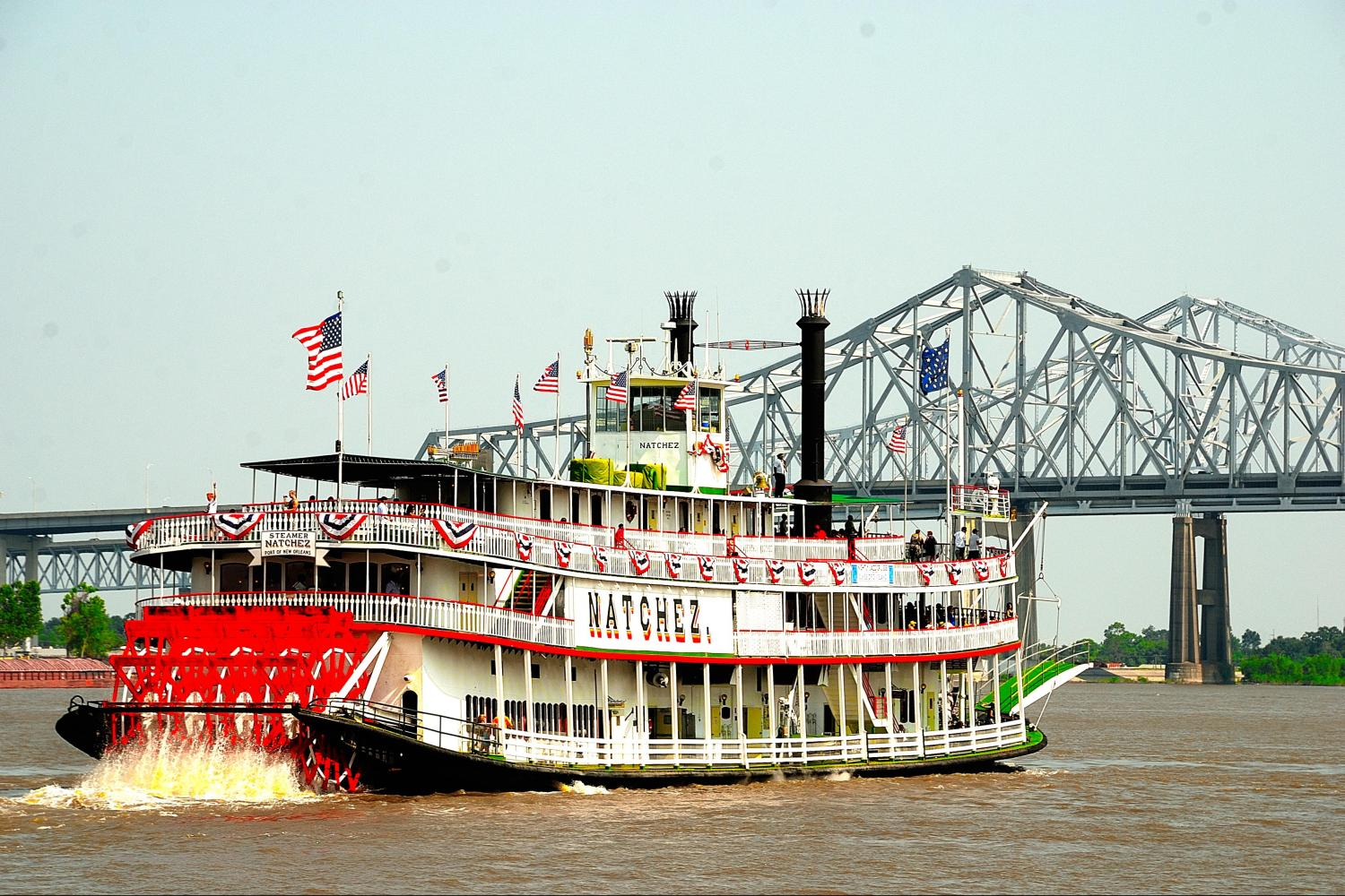 New Orleans City Tour & Steamboat Natchez Cruise Combo