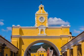 Gray Line UNESCO JEWELS: Antigua Guatemala Half Day Tour from Guatemala City