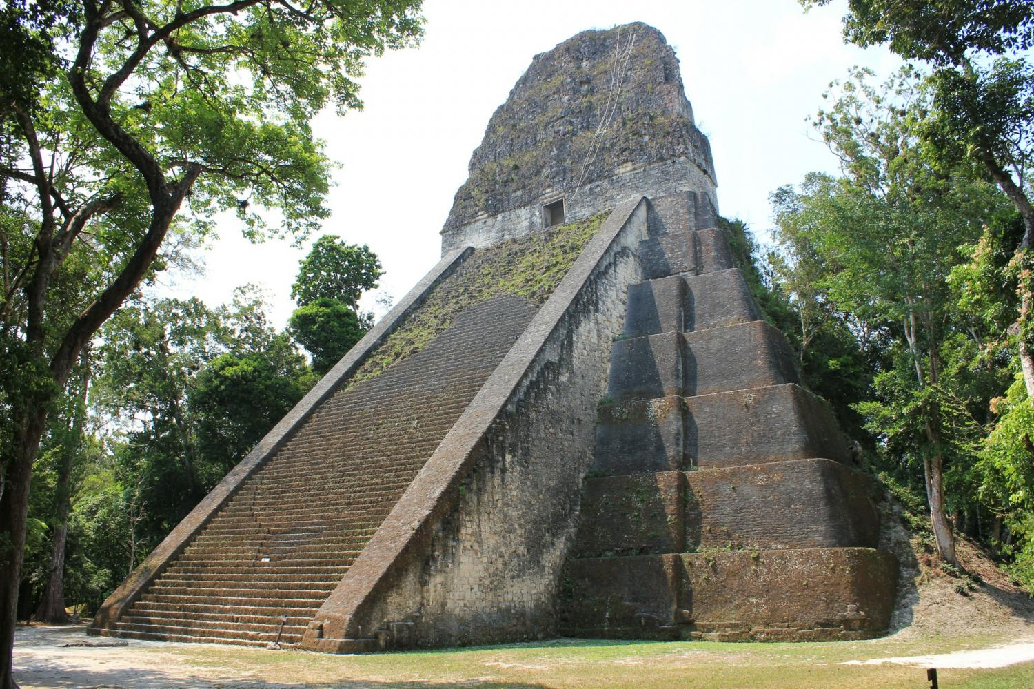 UNESCO JEWELS: Tikal Tour Full Day by Air From Antigua Guatemala