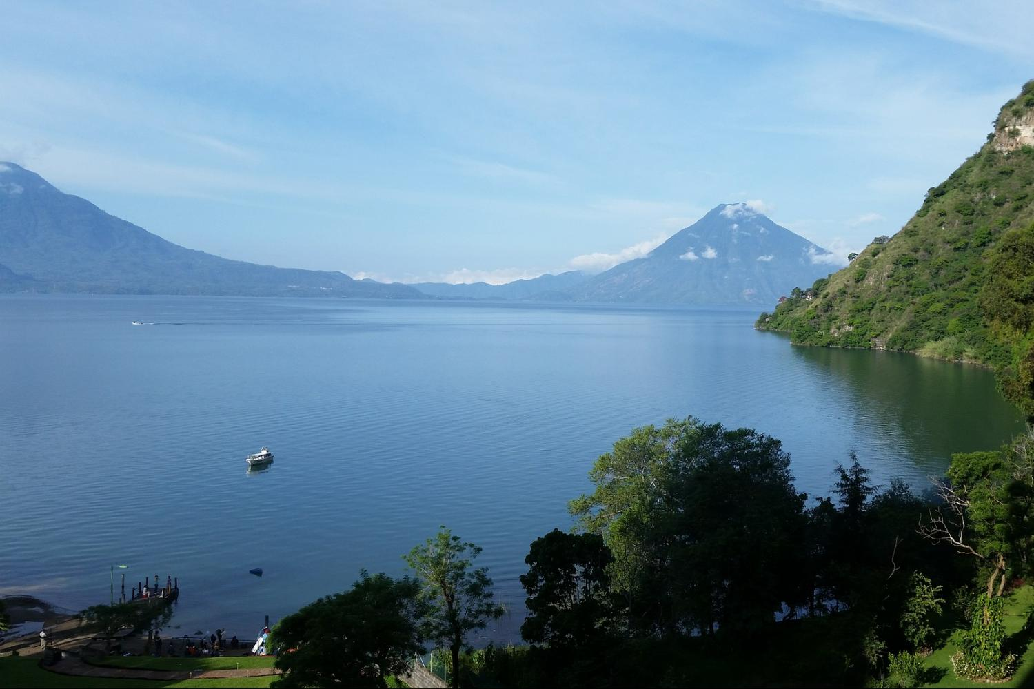 Panajachel and Lake Atitlan Tour with Boat to Santiago Full Day from Antigua