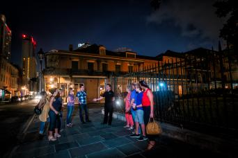Gray Line New Orleans Ghosts & Spirits Haunted Walking Tour