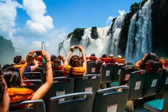 Gray Line 4x4 in the Jungle, Boat Ride & Iguazu Falls