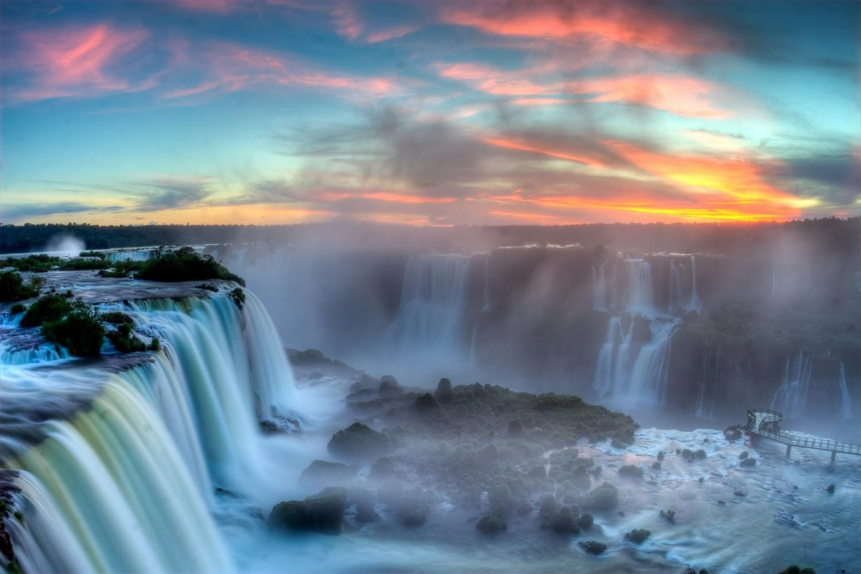 Iguassu Falls is truly a wonder to behold