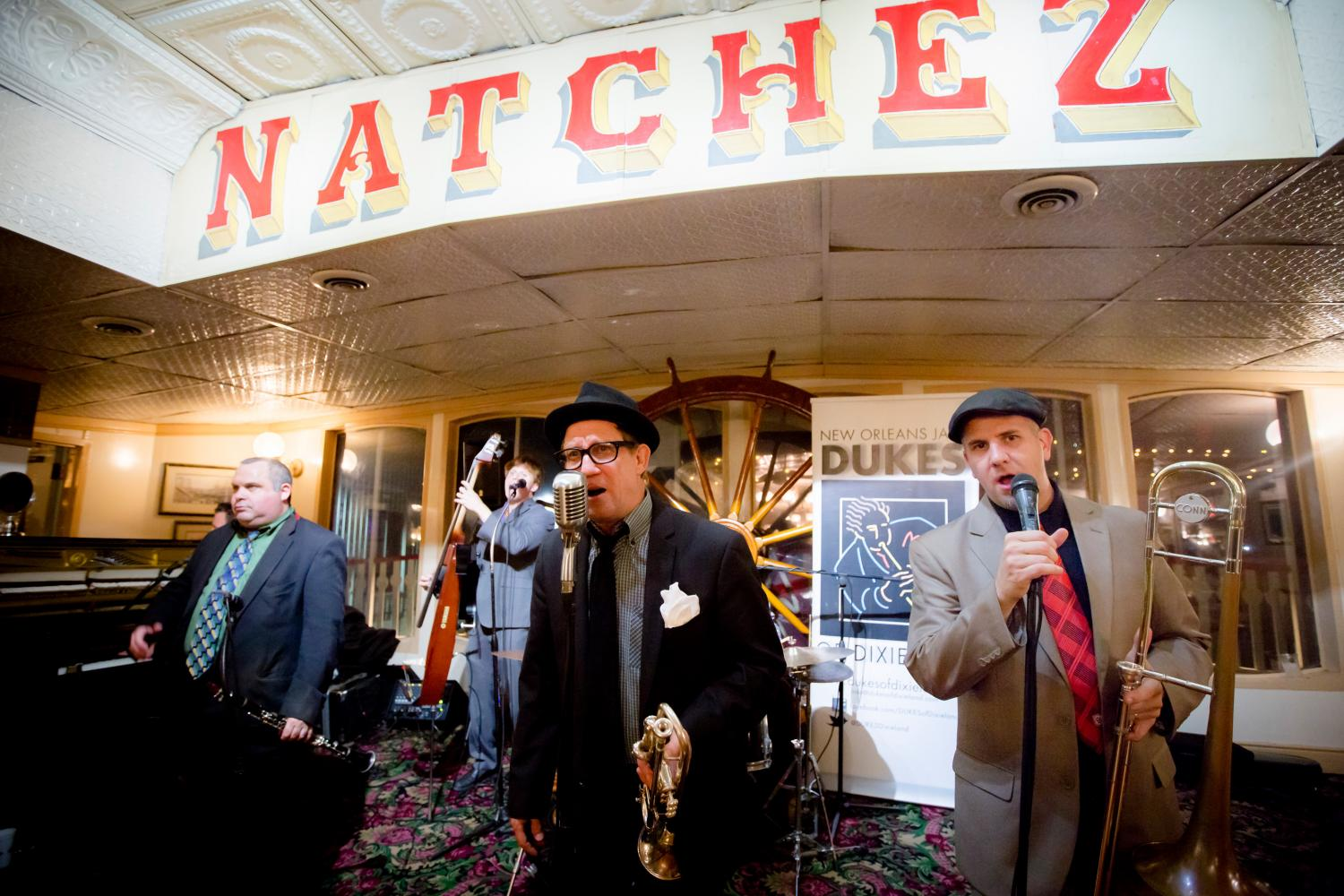 New Orleans Steamboat Natchez Daytime Jazz Cruise With Lunch