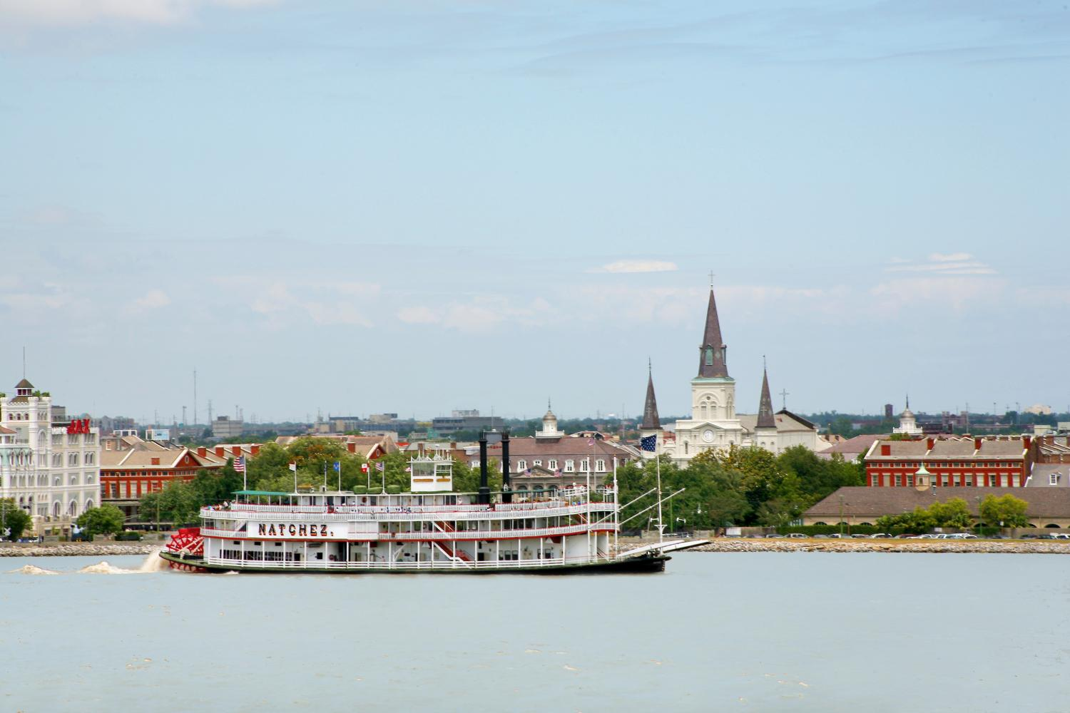 New Orleans Steamboat Natchez Daytime Jazz Cruise Only