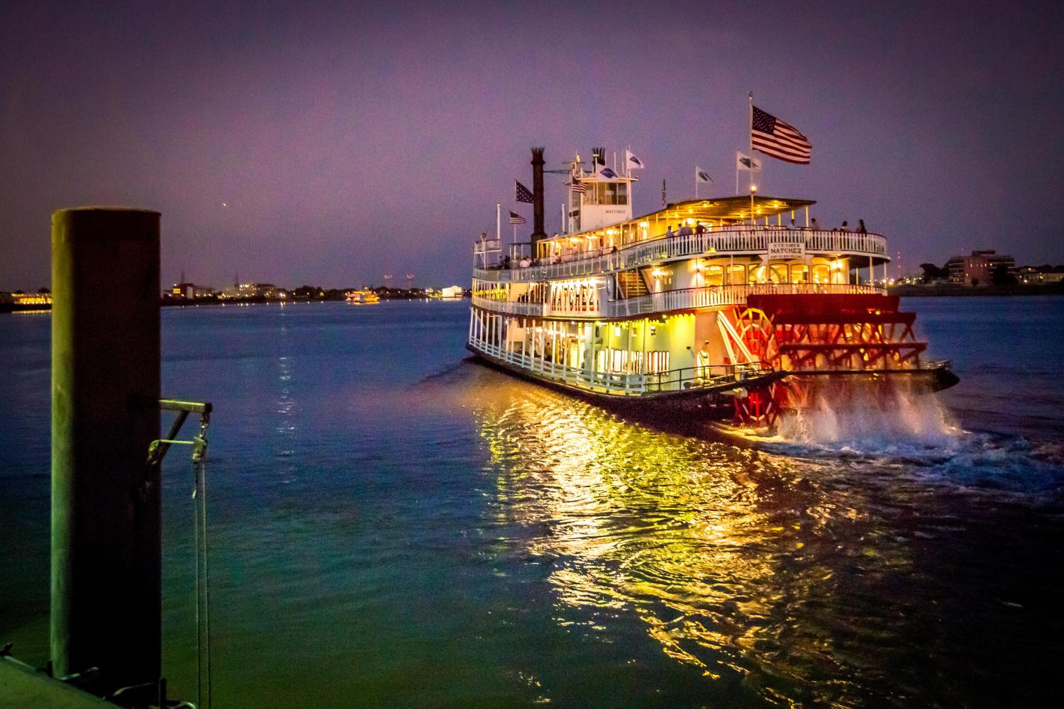 New Orleans Steamboat Natchez Evening Jazz Cruise With Dinner