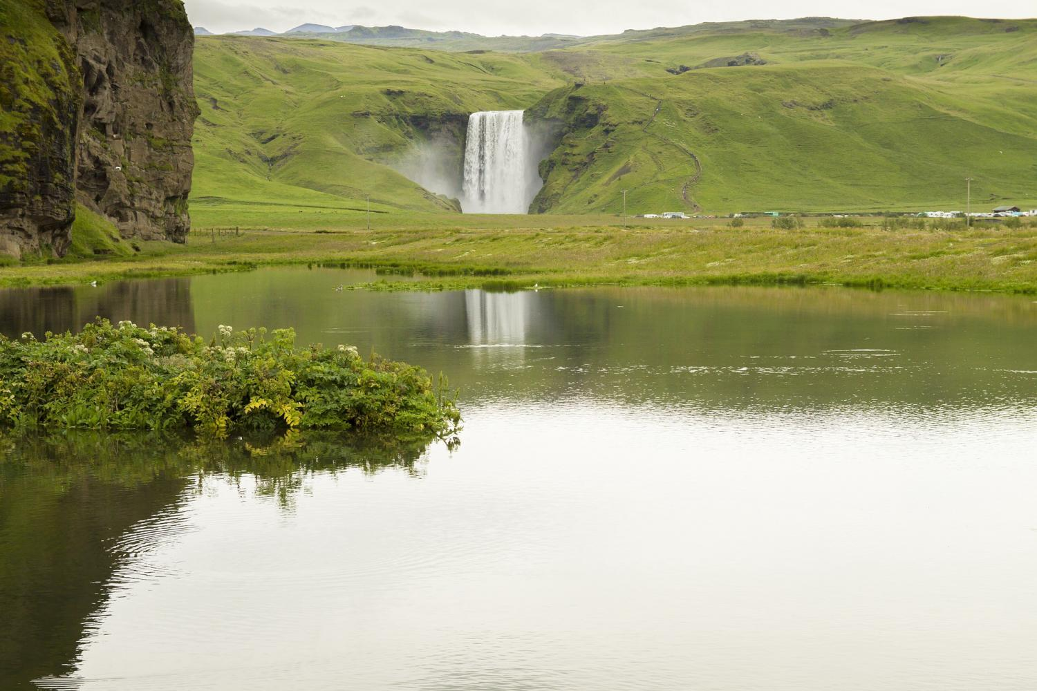 Iceland South Coast Waterfalls & Paragliding Tour
