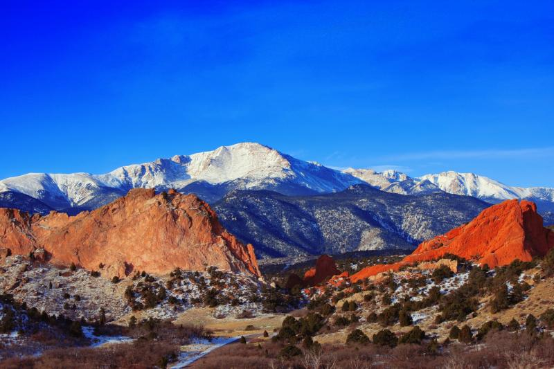 Pikes Peak and Air Force Academy , Denver, United States
