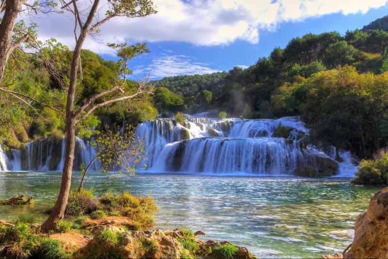Krka Waterfalls National Park Sibenik Tour From Split And