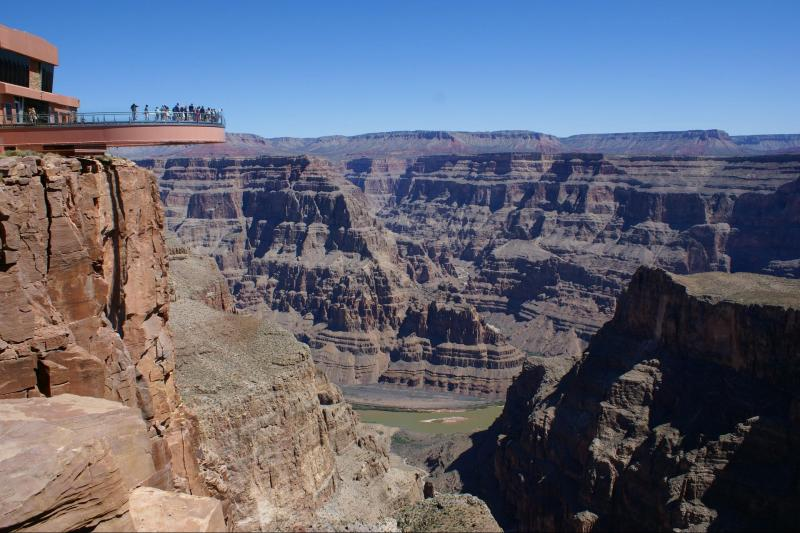 Grand Canyon West Rim By Luxury Limo Van W Skywalk Las Vegas United States Gray Line